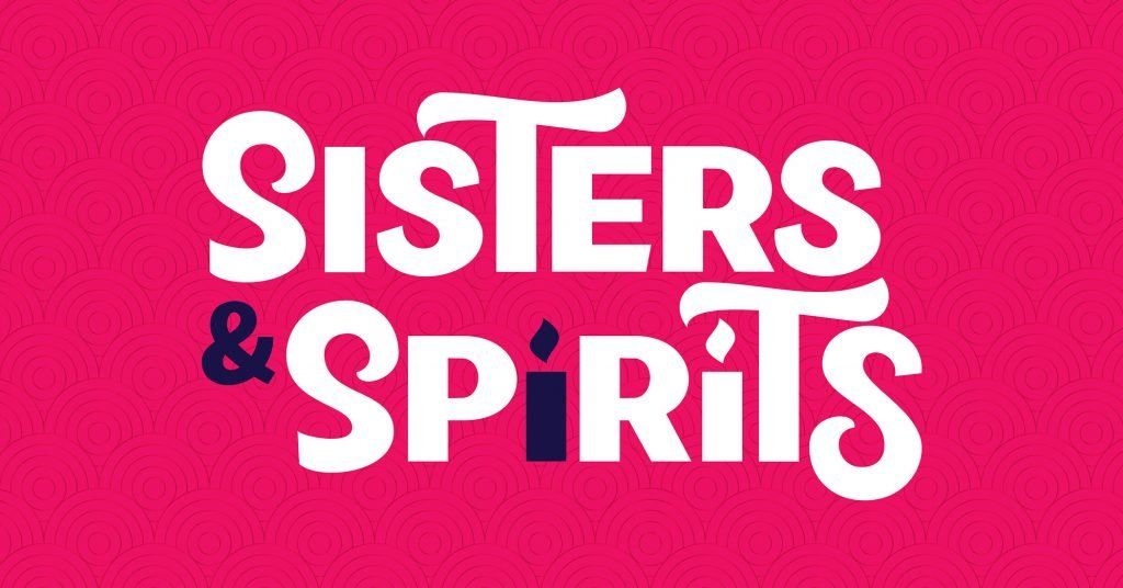 Sisters & Spirits tabletop game working title art in pink | © 2019 Truename Games