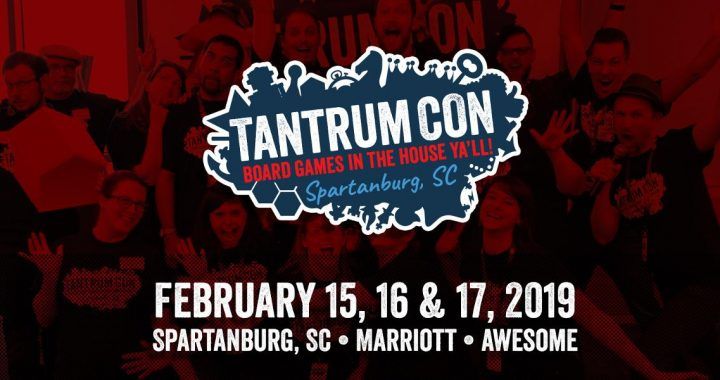 TantrumCon Board Game convention in Spartanburg, SC